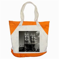 Vintage Uk England London Westminster Abbey 1970 Snap Tote Bag