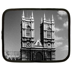 Vintage UK England London Westminster Abbey 1970 12  Netbook Case