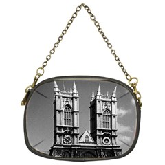 Vintage UK England London Westminster Abbey 1970 Twin-sided Evening Purse