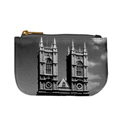 Vintage UK England London Westminster Abbey 1970 Coin Change Purse