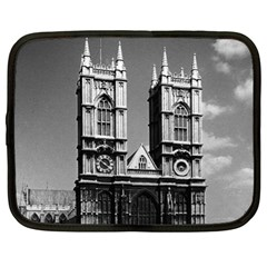 Vintage UK England London Westminster Abbey 1970 13  Netbook Case