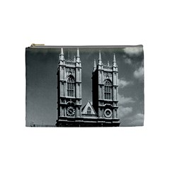Vintage UK England London Westminster Abbey 1970 Medium Makeup Purse