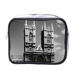 Vintage UK England London Westminster Abbey 1970 Single-sided Cosmetic Case