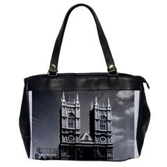 Vintage UK England London Westminster Abbey 1970 Single-sided Oversized Handbag