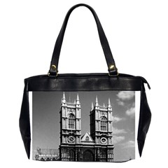 Vintage UK England London Westminster Abbey 1970 Twin-sided Oversized Handbag