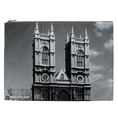 Vintage UK England London Westminster Abbey 1970 Cosmetic Bag (XXL)