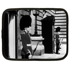 Vintage UK England London sentry at Buckingham palace 12  Netbook Case