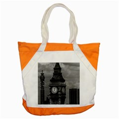 Vintage UK England London The post office tower Big ben Snap Tote Bag