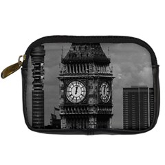 Vintage UK England London The post office tower Big ben Compact Camera Case