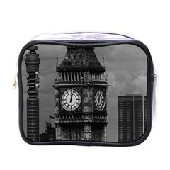 Vintage Uk England London The Post Office Tower Big Ben Single Sided Cosmetic Case
