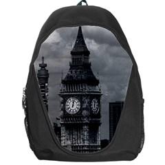 Vintage Uk England London The Post Office Tower Big Ben Backpack Bag