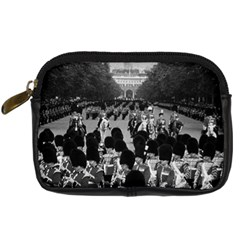 Vintage UK England the Guards returning along the Mall Compact Camera Case