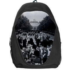 Vintage UK England the Guards returning along the Mall Backpack Bag