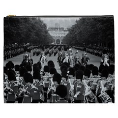 Vintage UK England the Guards returning along the Mall Cosmetic Bag (XXXL)