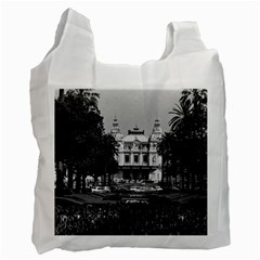 Vintage Principality of Monaco Monte Carlo Casino Twin-sided Reusable Shopping Bag