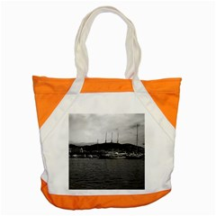 Vintage Principality of Monaco The port of Monaco 1970 Snap Tote Bag