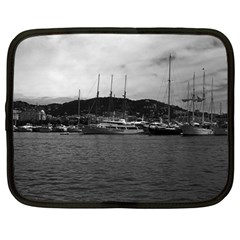 Vintage Principality Of Monaco The Port Of Monaco 1970 12  Netbook Case