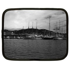 Vintage Principality Of Monaco The Port Of Monaco 1970 15  Netbook Case