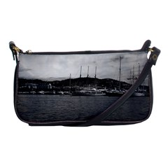 Vintage Principality of Monaco The port of Monaco 1970 Evening Bag