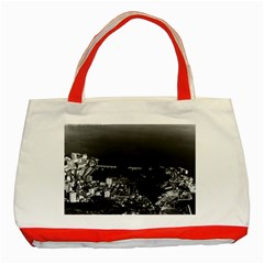Vintage Principality Of Monaco & Overview 1970 Red Tote Bag
