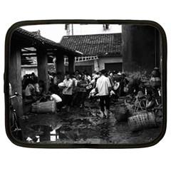 Vintage China changsha market 1970 15  Netbook Case