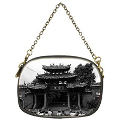 Vintage China Canton Taoist Ancestral Temple 1970 Twin Sided Evening Purse