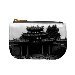Vintage China Canton Taoist Ancestral Temple 1970 Coin Change Purse