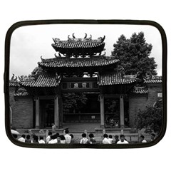 Vintage China Canton taoist ancestral temple 1970 15  Netbook Case
