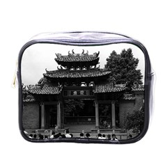 Vintage China Canton Taoist Ancestral Temple 1970 Single Sided Cosmetic Case