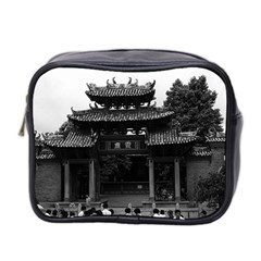 Vintage China Canton taoist ancestral temple 1970 Twin-sided Cosmetic Case