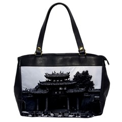 Vintage China Canton taoist ancestral temple 1970 Single-sided Oversized Handbag