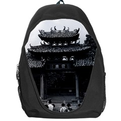 Vintage China Canton taoist ancestral temple 1970 Backpack Bag
