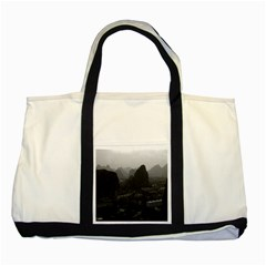 Vintage China Guilin city 1970 Two Toned Tote Bag