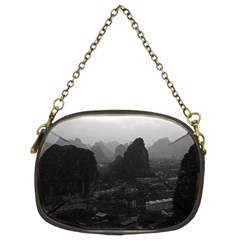 Vintage China Guilin city 1970 Twin-sided Evening Purse