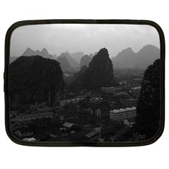 Vintage China Guilin city 1970 13  Netbook Case