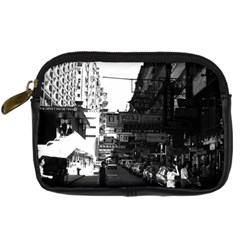 Vintage China Hong Kong street City cars 1970 Compact Camera Case
