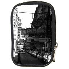Vintage China Hong Kong Street City Cars 1970 Digital Camera Case
