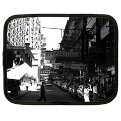 Vintage China Hong Kong Street City Cars 1970 15  Netbook Case