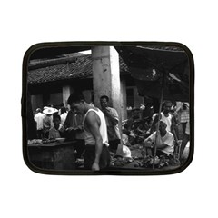Vintage China changsha market 1970 7  Netbook Case