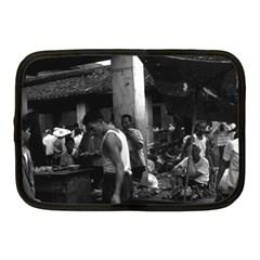 Vintage China Changsha Market 1970 10  Netbook Case