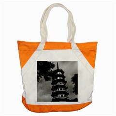 Vintage China Canton the flowery pagoda 1970 Snap Tote Bag