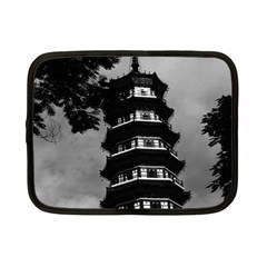 Vintage China Canton The Flowery Pagoda 1970 7  Netbook Case