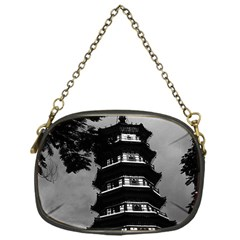 Vintage China Canton The Flowery Pagoda 1970 Single Sided Evening Purse