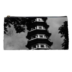 Vintage China Canton The Flowery Pagoda 1970 Pencil Case