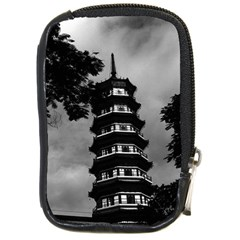 Vintage China Canton the flowery pagoda 1970 Digital Camera Case