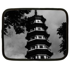 Vintage China Canton The Flowery Pagoda 1970 13  Netbook Case