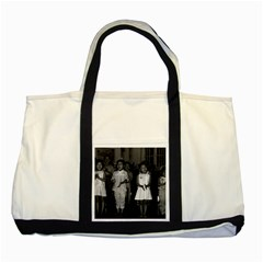 Vintage China Changsha Childcare 1970 Two Toned Tote Bag