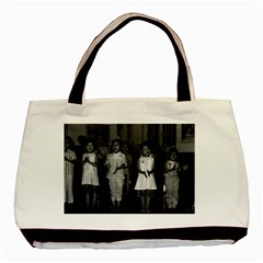 Vintage China Changsha childcare 1970 Twin-sided Black Tote Bag