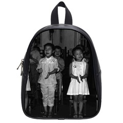 Vintage China Changsha Childcare 1970 Small School Backpack
