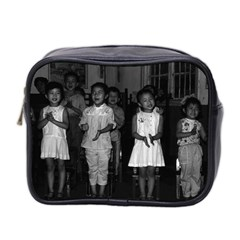 Vintage China Changsha Childcare 1970 Twin Sided Cosmetic Case